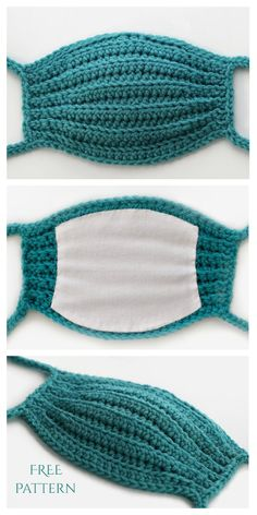 Crochet accessories 343821752805705999 - Face Mask Free Crochet Patterns & Paid + Video – DIY Magazine Source by Crochet Home, Crochet Crafts, Crochet Projects, Free Crochet, Knit Crochet, Crochet Fabric, Crochet Granny, Yarn Crafts, Crochet Bikini
