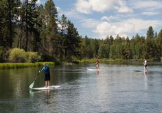 Stand Up Paddle Tour on the Deschutes River #inbend