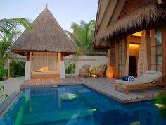 Definitivamente un lugar para unas relajantes y románticas vacaciones! =)