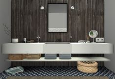 MS91 Orama bathroom at Sanoy Sims via Sims 4 Updates More