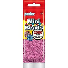 Fuse Beads - Perler Beads 8014062 2000 Mini Beads Bubblegum >>> Continue to the product at the image link.