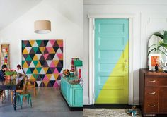 12 ideias pra decorar sua porta