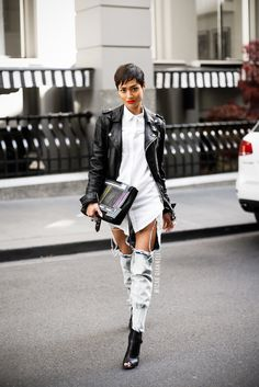 Creative Ways to Wear Your White Button-Down Shirt – Glam Radar