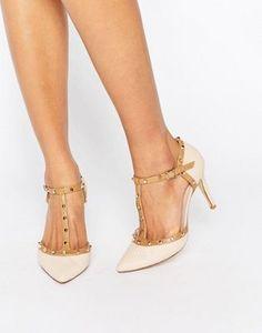 Zapatos de salón con abertura de tachuelas de Dune