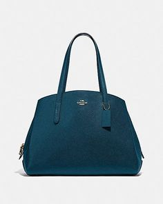 CHARLIE CARRYALL 40 Polished Pebble, Signature, Coach Leather Cleaner, Designer Totes, Womens Tote Bags, Tote Handbags, Pebbled Leather, Everyday Fashion, Bag Accessories