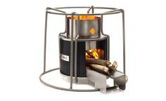EZY woodburning stov