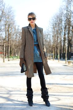 On the Street…..Late Winter, Paris « The Sartorialist