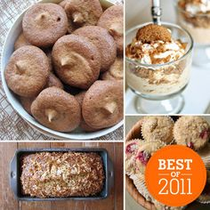 Best Healthy Desserts of 2011  FROM HEALTHY COOKIES TO GOOD-FOR-YOU CAKES: A YEAR'S WORTH OF FITSUGAR DESSERTS