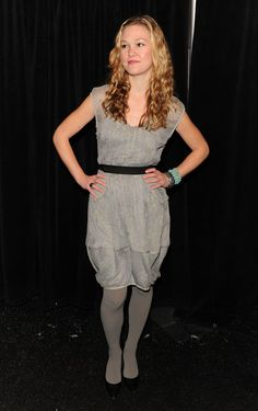 Julia Stiles Photos: Tracy Reese - Backstage - Fall 2010 MBFW
