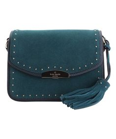 Kate Spade Emerald Forest Kenway West Street Leather Crossbody Bag | zulily
