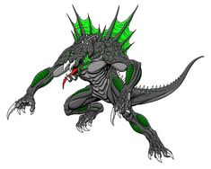 Diablo Chupacabra by kaijuverse on DeviantArt Jade Cocoon, Arte Grunge, Grey Alien, Horse Feed, Jurassic World Dinosaurs, Creature Concept, Monster Art, Fantasy Creatures, Character Art