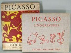 Linogravures, Pablo Picasso, Editions Cercle D'Art Paris, intro. Wilhelm Boeck, 1962.  Sold for $3,000.