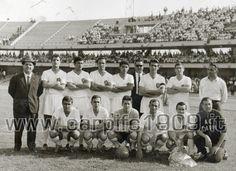 Stagione 63-64: l'A.C. Carpi conquista la serie C battendo nello spareggio il Bolzano 3-1 a Brescia, dopo che la prima gara al Bentegodi (nella foto) era terminata 1-1
