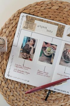 How to create a timeline journal - My True Life Pictures Of You, Beautiful Pictures, Canon Selphy, Canon Print, Create A Timeline, Minimalist Photos, Vintage Pens, Life Logo, Pen Sets