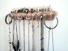 Jewelry Organizer Wall Jewelry Necklace Holder Bracelet Holder