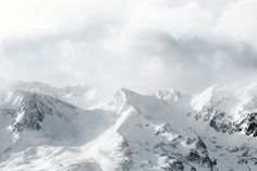 Alps by Akos Major, via Behance