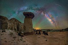 Milky Way & Red-Green Airglow  By Dave Lane Astrophotography