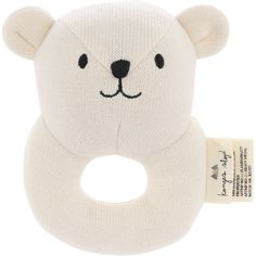 Quro mini bear from Konges Slojd. Your baby will love Quro mini bear and the shape is made especially for tiny hands to grasp onto. The little bell inside is perfect to stimulate the baby's hearing. Mini, Activity Toys, Racoon, Gender Neutral Baby, Oeko Tex 100, Cute Bears, Baby Essentials, Fine Motor Skills, Kind Mode