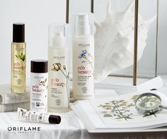 A nova gama de cuidados de rosto EcoBeauty dá-lhe uma pele naturalmente radiante. --> http://www.123contactform.com/form-242316/Pedido-Catalogo