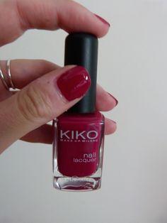 Kiko n°287 nail art
