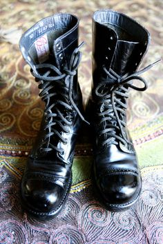 """Good Lord I'm big  I'm heading on  Man-size  Got my leather boots on"" - PJ Harvey"