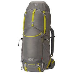 Mountain Hardwear Ozonic 65 OutDry Backpack Titanium Medium  Large * Click image to review more details.Note:It is affiliate link to Amazon.