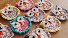 Baby Owls, Favors, Crochet Earrings, Applique, Baby Shower, Trending Outfits, Unique Jewelry, Handmade Gifts, Etsy