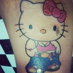 My personal Hello Kitty tattoo