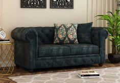 Henry 2 Seater Sofa ~ Amalgamation of Class and Elegance #2seatersofa #loveseat #sofas #sofaset #design #furniture #loveseats #couches #sofaset