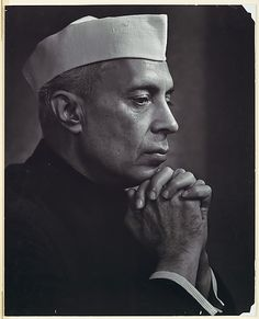 If you are an Indian, then you would know about Jawaharlal Nehru. He is one of the famous personalities of India. He was the one who took the lead after the independence of India and was the first prime minister on India. Famous Photographers, Portrait Photographers, Photography Portraits, Indira Ghandi, Yousuf Karsh, Jawaharlal Nehru, Historia Universal, Best Portraits, Man Ray