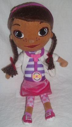 "Doc McStuffins 9 5"" Stuffed Animal Plush TV Show Disney Doctor Just Play Toy | eBay"