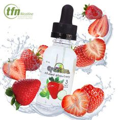 Creative E-Juice Infused Strawberry TFN 30ml - Simple and delicious, like you've never tasted before. The flavor of this infused strawberry vape takes everyone's favorite flavor to the next level. First hand, the sweet strawberry indulges your pallet (when we say sweet we mean sweet). Completing the combination with freshly chopped fruit, making this combination lethal. Don''t worry, only 4% sweetener was used in the making of this recipe, no coils will be harmed while vaping this flavor…