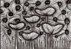 shroom tangle - reminds me of the truffula trees in The Lorax :)