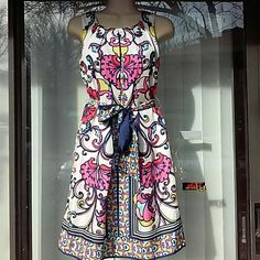 Lilly Pulitzer gorgeous silk dress With silk lining,worn once Lilly Pulitzer Dresses