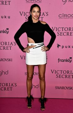 Adriana Lima Photos: Arrivals at the Victoria's Secret Fashion Show Afterparty