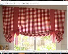 como hacer cortinas para cocina - Buscar con Google Shaby Chic, How To Make Curtains, White Bedroom, Decoration, Window Treatments, Interior Inspiration, Valance Curtains, Diy And Crafts, Projects To Try