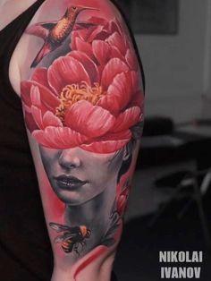 Tattoo Studio, Portrait, Tattoos, Tatuajes, Headshot Photography, Tattoo, Portrait Paintings, Drawings, Portraits