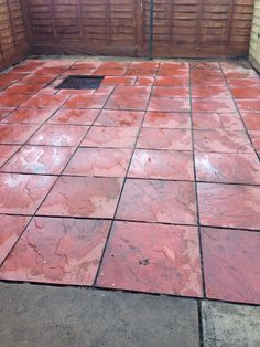 Very clean patio