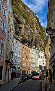 The city on the rocks.. Salzburg, Austria | by Altariss