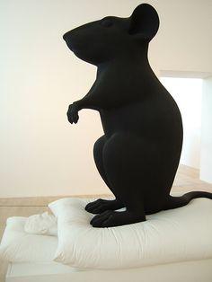 Katharina Fritsch (1991-92) Man and Mouse