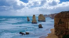 12 Апостолов. 12 Apostles. Great ocean road. #planetearth #phototour #ocean #ig_australia #australia #greatoceanroad #portcampbell #travel #roadtrip #worldtour #wildnature #12apostles #amazing #adventure #sky #clouds #heritage #marineart #nature #beauty #mytravelgram by sergey1972
