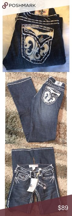 🆕LAGUNA BEACH JEAN CO 26L A thick, contrasting stitch and embellished back pockets highlight these fashionable vintage wash jeans from Laguna Beach Jean Company. With a belt loop waist, these jeans are finished with a traditional five pocket design.   Size 26L 97% Cotton, 3% Spandex  Please comment with any questions.  Feel free to make me an offer!  Purchase by noon EST for same day shipping.  Bundle items and save, just click the three dots in the right hand corner.  Thanks for visiting…