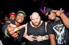 Two of my favorite rappers out right now @ActionBronson @A$APRocky