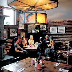 Top 18 local institution restaurants   Nora's Fish Creek Inn, Jackson Hole   Sunset.com
