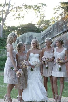 Bridesmaids Root for Freedom of Choice | Mine Forever