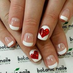 100 crush worthy valentines day nail art ideas popsugar 14 super pretty valentines day nail designs hashtag nail art prinsesfo Images