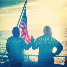 All American Alpha Phi. Sister Pics, Sister Pictures, Sister Love, Sea To Shining Sea, Alpha Phi, Ivy League, Girls Wear, Sorority, Bordeaux