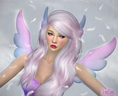 Jenni Sims: Accessory sets Wings and Ears • Sims 4 Downloads