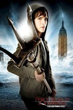 """Percy Jackson Series - my kids got me into it! I'm """"audio"""" reading it. I'm now reading the 2nd book, Sea Monsters."""