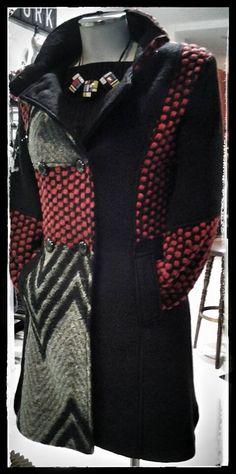 collana ZSISKA collezione Omage abito in modal cappotto misto lana, un nuovo arrivo bellissimo